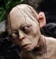 Gollum from the classic film trilogy - 'The Lord of the Rings' directed by Peter Jackson