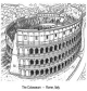 The Colliseum in Rome. They could fill it with water.
